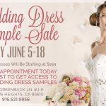 Wedding Dress Sample In June 2017