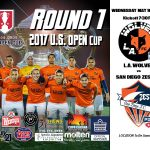 L.A. Wolves FC to Host San Diego Zest FC in the First Round of 2017 Lamar Hunt U.S. Open Cup