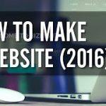 How to Make a WordPress Web site 2016 – Straightforward!