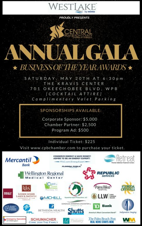 Gala Flyer 2017 - Business of the Year Awards