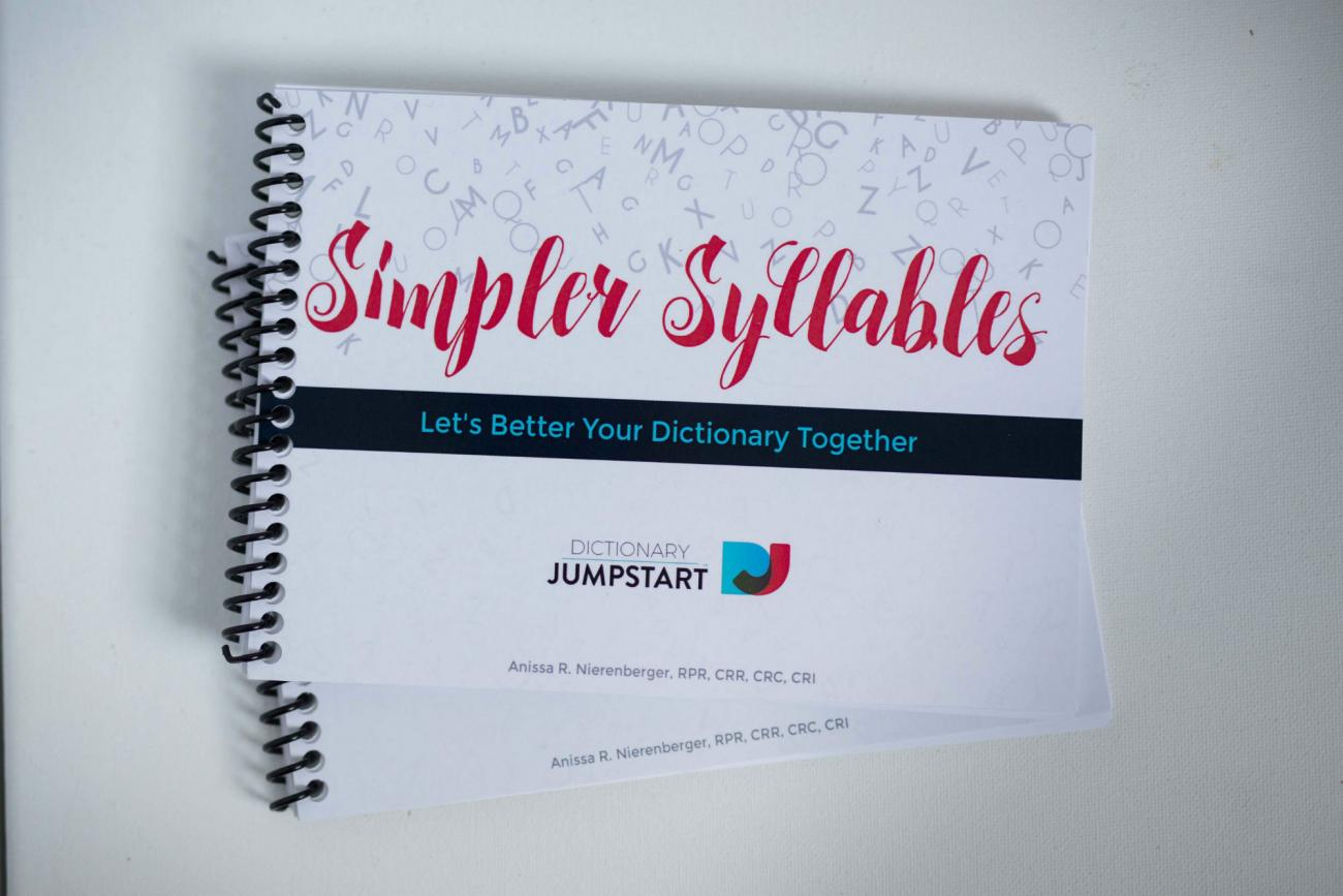 Simpler Syllables by Anissa R. Nierenberger