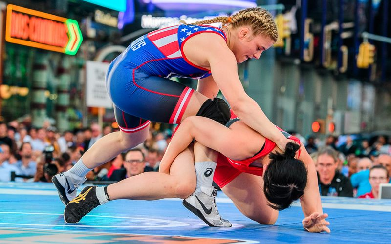 Helen Maroulis (photo: Tony Rotundo)