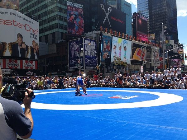 Beat the Streets Wrestling Times Square