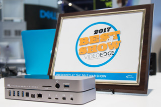 OWC Thunderbolt 3 Dock Wins NAB 2017 Best of Show Award