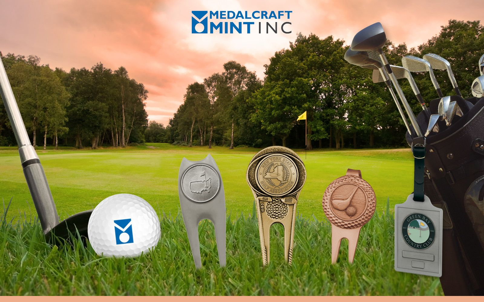 Medalcraft Mint Custom Golf Tools