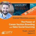 Daniel Slonina, Consultant at Acuity Cloud Options, To Current at OHUG 2017