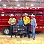 Jaynes Gang earns over $70,000 in ABBI's largest bucking bull event