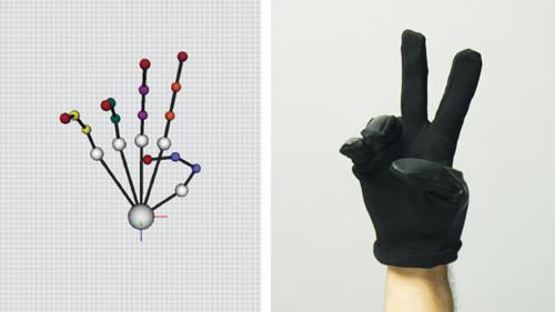 BeBop Sensors Marcel Modular Data Glove