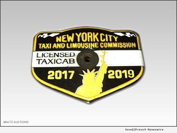 Maltz Auctions - NYC Taxi Medallions