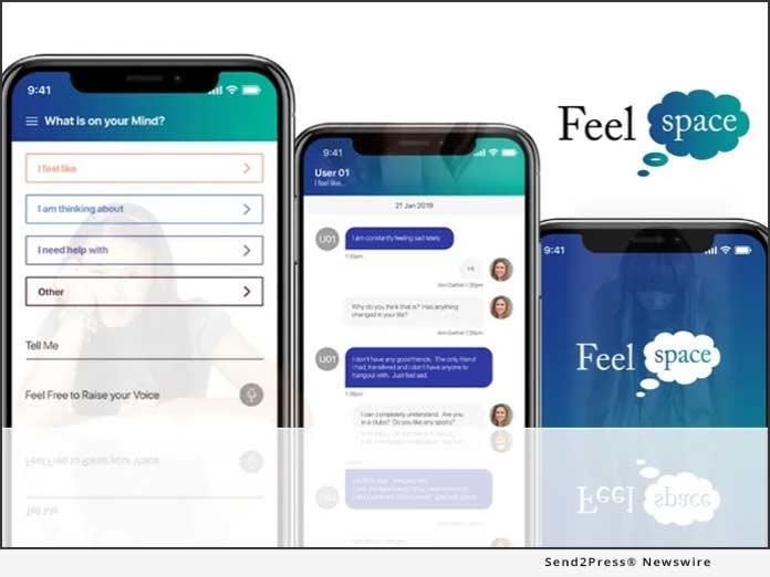 FeelSpace app from FeelU